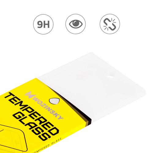 Wozinsky super wytrzymałe szkło hartowane Full Glue na cały ekran z ramką Case Friendly Huawei P Smart Plus czarny